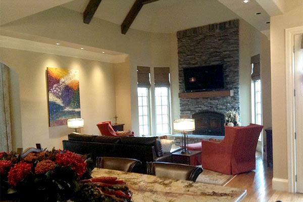Arrington tennessee residence hendersonville nashville tennessee interior designer for Interior design hendersonville tn